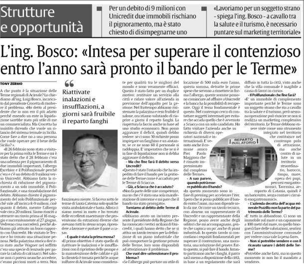 Bosco-intervista