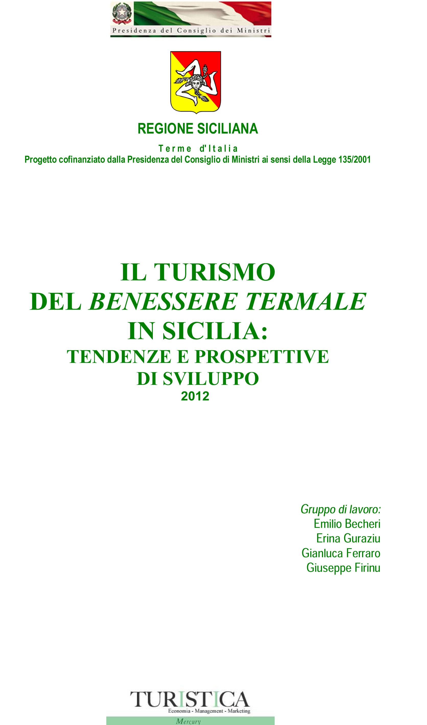 Il Rapporto Sul Turismo Del Benessere Termale In Sicilia