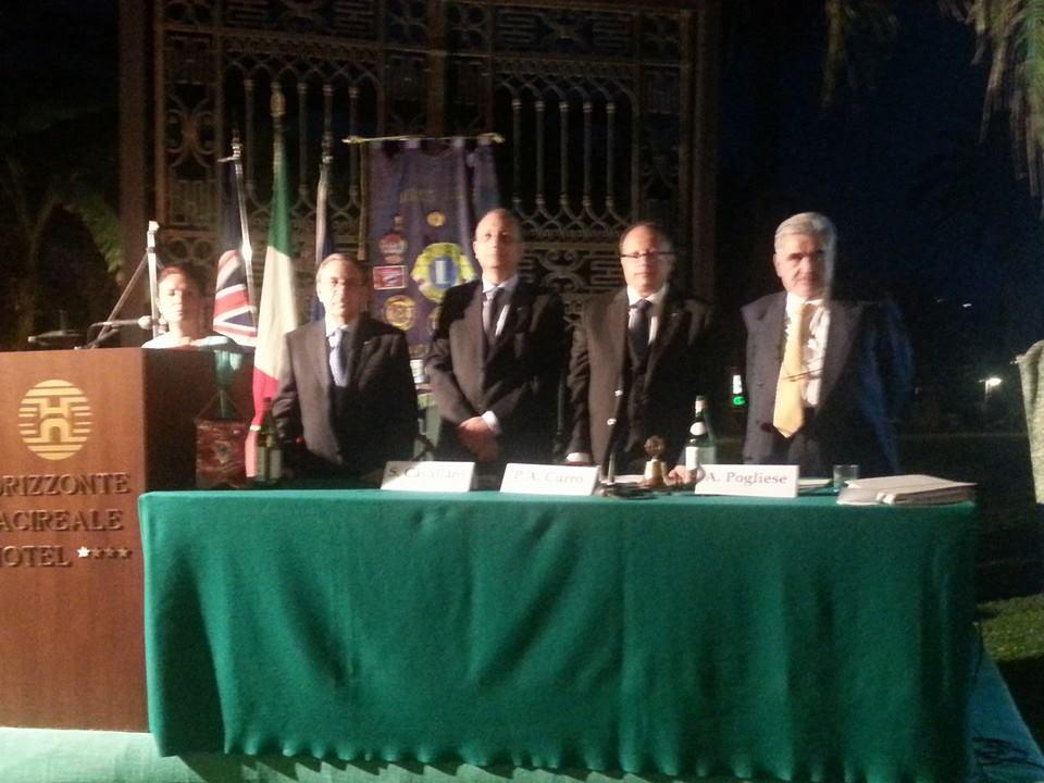 Silvio Cavallaro, nuovo presidente del Lions Club di Acireale: