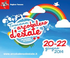 regione toscana - arcobaleno destate