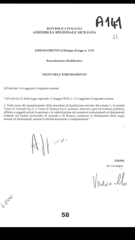 emendamentoapprovato